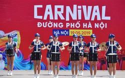 """Carnival đường phố khuấy động phố đi bộ Hồ Gươm nhân kỷ niệm """"20 năm Thành phố Vì hòa bình"""""""