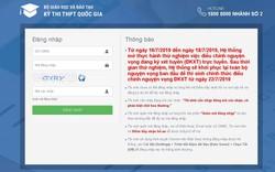 Thí sinh thử nghiệm điều chỉnh nguyện vọng đăng ký xét tuyển ĐH, CĐ trực tuyến từ hôm nay