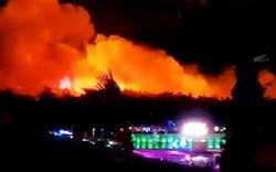 Đại tiệc hiphop châu Âu gián đoạn khi cháy lớn bùng lên: 10 nghìn người di tản gấp