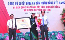 Trao Bằng xếp hạng di tích khảo cổ quốc gia Thành đất hình tròn Lộc Tấn 2