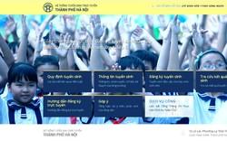 Tuyển sinh trực tuyến Hà Nội ngày đầu đã có hơn 72.000 học sinh đăng ký