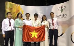 Việt Nam đoạt 4 Huy chương tại Olympic Sinh học quốc tế năm 2019