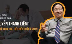Dấu ấn tiêu biểu trong sự nghiệp của GS Nguyễn Thanh Liêm - TOP 100 nhà khoa học tiêu biểu Châu Á 2019