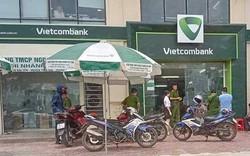 Thanh Hóa: Cướp nổ súng uy hiếp nhân viên ngân hàng Vietcombank
