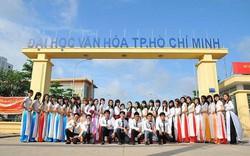 Trường ĐH Văn hóa TP.HCM công bố điểm sàn tuyển sinh đại học chính quy 2019