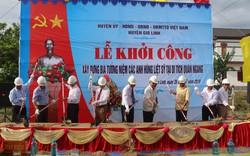 Khởi công xây dựng Nhà bia tưởng niệm AHLS tại Di tích khu căn cứ Quán Ngang