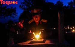Hàng vạn ngọn nến tri ân thắp sáng 72 nghĩa trang