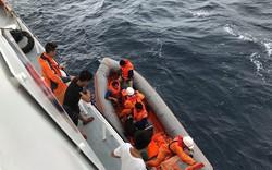Vụ chìm tàu ở Bạch Long Vĩ: Mục sở thị lực lượng chức năng tìm kiếm 9 người mất tích