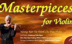 Nghệ sỹ violin nổi danh Stéphane Trần Ngọc biểu diễn tại Việt Nam