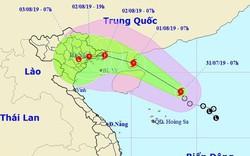 Áp thấp nhiệt đới đã mạnh lên thành bão (WIPHA), sẽ đổ bộ đất liền vào cuối tuần
