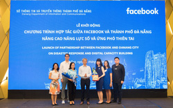 Facebook và Đà Nẵng hợp tác trong lĩnh vực nâng cao năng lực số và ứng phó thiên tai