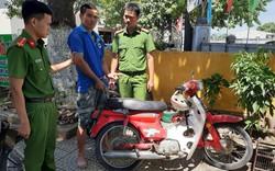 TT - Huế: Bắt đối tượng trộm xe máy để đi trộm bò