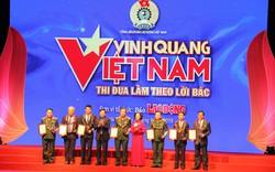 """19 tập thể, cá nhân xuất sắc được tôn vinh trong Chương trình """"Vinh quang Việt Nam"""""""