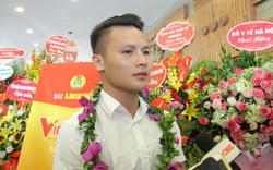 """Quang Hải là một trong số 12 cá nhân được tôn vinhtrong chương trình Vinh quang Việt Nam"""" năm 2019"""
