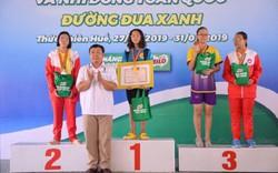 Học sinh Hà Nội đoạt 2 Huy chương Vàng giải Bơi cứu đuối học sinh, thanh thiếu nhi toàn quốc