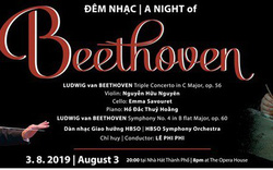 Lắng cùng đêm nhạc Beethoven tại TP.Hồ Chí Minh