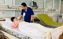 Sản phụ mang song thai bị vỡ tử cung