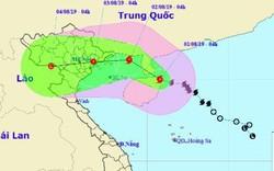Bão số 3 (WIPHA) hướng vào các tỉnh từ Quảng Ninh đến Nam Định, miền Bắc mưa to