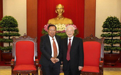 Đưa quan hệ Việt Nam-Lào phát triển lên tầm cao mới