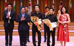 Bế mạc cuộc thi Âm nhạc quốc tế Violon và Hòa tấu thính phòng Việt Nam 2019