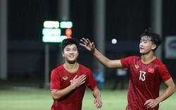 Danh Trung tái lập siêu phẩm của Xuân Trường, U22 Việt Nam quật ngã cựu vương Hong Kong Premier League