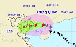 Bão số 3 gây mưa lớn tới 400mm ở Bắc Bộ và Thanh Hóa