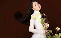 Ca sĩ Đinh Trang hát thính phòng giữa núi đồi Mù Căng Chải
