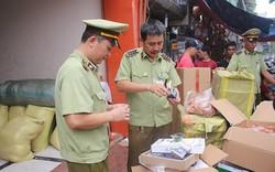 Phát hiện hàng trăm kg thịt lợn, chân gà, hạt dẻ, bánh Trung thu ... nguồn gốc Trung Quốc tại nhà xe Sao Việt