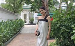 MC Phí Linh lộ bụng lớn sau gần 3 tháng lên xe hoa