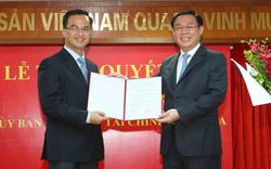 Phó Thủ tướng Vương Đình Huệ trao quyết định bổ nhiệm Phó Chủ tịch Uỷ ban Giám sát tài chính quốc gia