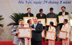 Lễ trao tặng danh hiệu NSND, NSƯT lần thứ 9: Ngày hội vinh danh những nghệ sĩ tiêu biểu
