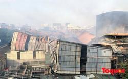 Bộ Tài nguyên Môi trường cảnh báo rủi ro trong bán kính 1,5 km sau vụ cháy ở Công ty Rạng Đông