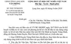 Lạng Sơn tu bổ di tích nhà lưu niệm Chủ tịch Hồ Chí Minh tại huyện Tràng Định