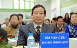 Hòa Bình: Kỷ luật cảnh cáo Phó Chủ tịch thường trực UBND tỉnh Bùi Văn Cửu