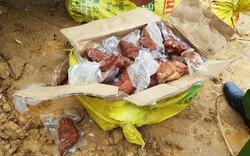 Lào Cai: Bắt giữ và tiêu hủy 4.600kg móng giò lợn