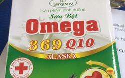 Thu giữ hơn 5.000 hộp sữa bột Omega ALASKA không đạt chuẩn