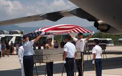 Lễ hồi hương hài cốt quân nhân Mỹ lần thứ 151 tại Sân bay Quốc tế Đà Nẵng