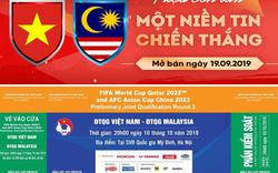 Vào 10h sáng nay, VFF mở bán 27.000 vé trận ĐT Việt Nam - ĐT Malaysia