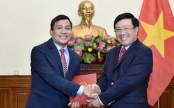 Công bố quyết định nhân sự Thứ trưởng Bộ Ngoại giao