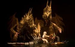 Mơ Rồng- vở múa rối được đầu tư bạc tỉ lần đầu tiên đưa diễn viên rối nước lên cạn