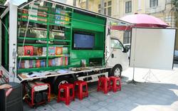 Lễ trao tặng xe ô tô thư viện lưu động đa phương tiện cho 31 thư viện tỉnh/thành phố