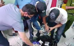 Hàng nghìn viên ma túy tổng hợp giấu trong nồi cơm điện