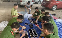 Thu giữ hơn 300 chiếc điện thoại iphone nhập lậu từ Trung Quốc