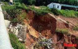 Nghệ An: Kênh tưới tiêu gần nghìn tỷ sạt lở nghiêm trọng, đất đá bồi lấp