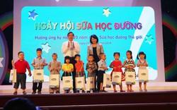 Ngày hội sữa học đường cho trẻ em mầm non thành phố Đà Nẵng