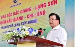 Phó Thủ tướng Trịnh Đình Dũng dự lễ thông xe cao tốc Bắc Giang - Lạng Sơn