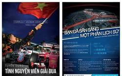 Tuyển 1.000 tình nguyện viên điều hành chặng đua công thức 1 Việt Nam