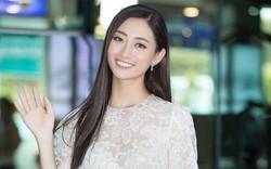 Hoa hậu Lương Thùy Linh làm giám khảo cuộc thi sắc đẹp