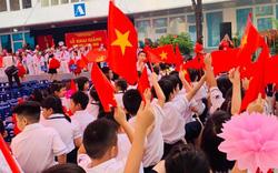 Không dùng bóng bay, nhiều trường tại Hà Nội đã mang lại ý nghĩa nhiều hơn một buổi lễ khai giảng