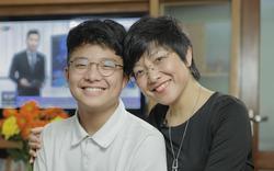 Xúc động lá thư của MC Thảo Vân gửi cho con trai NSND Công Lý nhân ngày khai trường